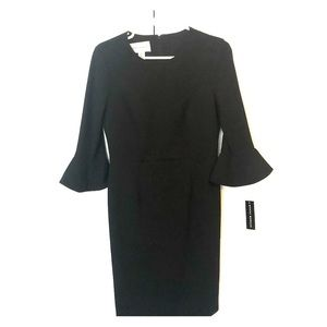 Donna Morgan flare sleeve dress